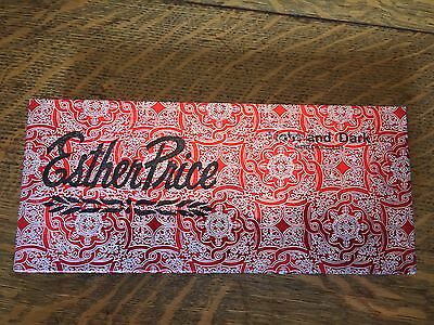 Vintage Empty Esther Price Candy Box