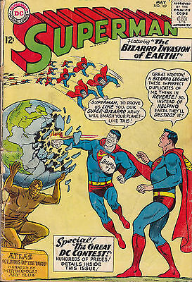 Superman #169 (Dc) May 1964 (Gd) Silver Age