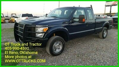 2011 Ford F-250 XL 2011 Ford F-250 4wd Extended Cab / Supercab F250 Long Bed 6.2L Gas