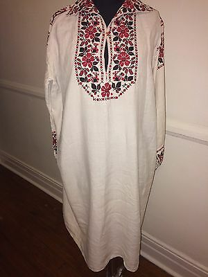 Antique Embroidered Ukrainian Dress