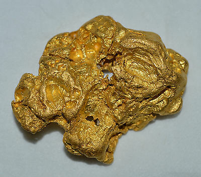 GOLD NUGGET CRYSTAL NATURAL 61.00 grams Palmer River Goldfields QLD Australia