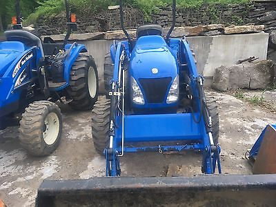2008 New Holland Tractor Tc45a Loader