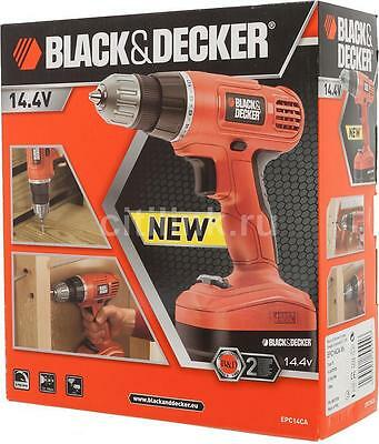"Black and Decker 14.4 V Lithium-Ion Cordless Drill Driver """"BRAND NEW"""""""