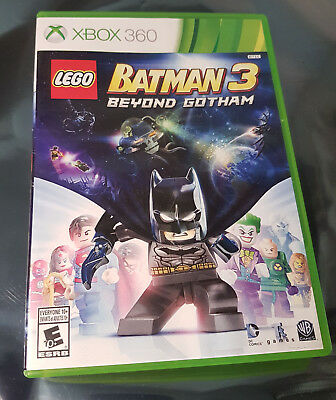 LEGO Batman 3: Beyond Gotham (Xbox 360) Video Game with Case and Manual