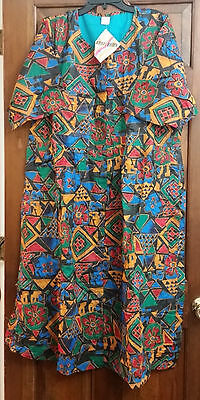 African Women Clothing Summer Dress Size 4X
