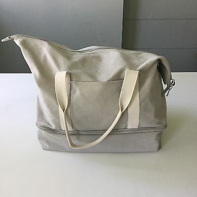 Lo & Sons Catalina Weekender Bag - Dove Grey - Excellent -Lo And Sons, Lo + Sons