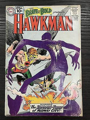 Brave And The Bold #36 Gd- Dc Comics Silver Age Hawkman!