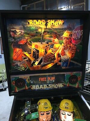 Red & Teds Road Show Pinball Machine By Williams With LED's
