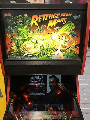 Revenge From Mars Pinball Machine By Bally Williams With LED's Pinball 2000