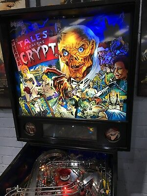 Tales From The Crypt Pinball Machine By Data East With LED's