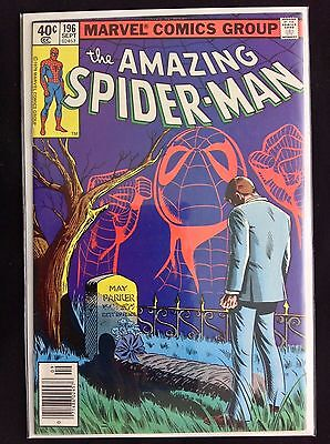 AMAZING SPIDER-MAN #196 Lot of 1 Marvel Comic Book!