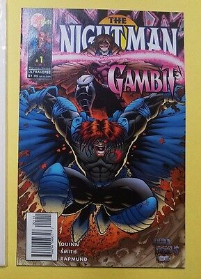 NEW The Nightman/Gambit #1 Marvel/Ultravere Comics BAGGED & BOARDED