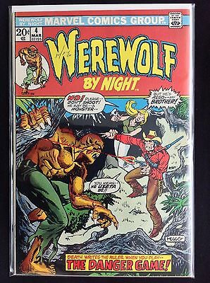WEREWOLF BY NIGHT #4 Lot of 1 Marvel Comic Book!