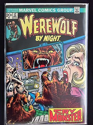 WEREWOLF BY NIGHT #12 Lot of 1 Marvel Comic Book!