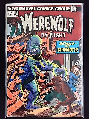 WEREWOLF BY NIGHT #17 Lot of 1 Marvel Comic Book!