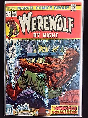 WEREWOLF BY NIGHT #20 Lot of 1 Marvel Comic Book (k) - High Grade!