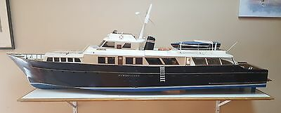 Foxy Lady II - Motor Yacht Ship Model  70""
