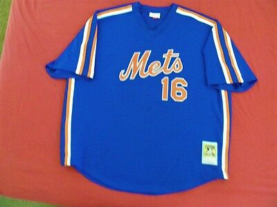 new styles c7202 d127a MITCHELL NESS M&N New York Mets Authentic Dwight Doc Gooden BP Jersey sz 56  3XL
