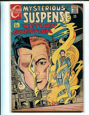 Mysterious Suspense 1 Vg V. 1! Return Of The Question! Not Cgc!!!!!!!!!!!!!!!!!!