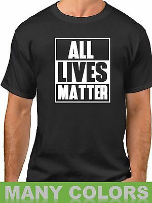 All Lives Matter T Shirt Protest Support Tee Civil Rights T-Shirt Freedom
