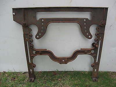 3x Antique Industrial cast iron simanco singer sewing machine co stands 3-SOME