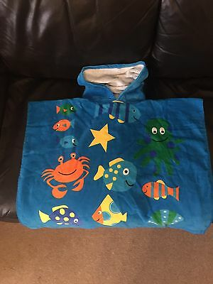 Children's Swimming Hooded Towel/Puncho