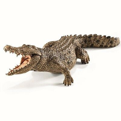 Schleich Crocodile Toy Figure New with tag Item 14736 Poss Combined or Free Ship