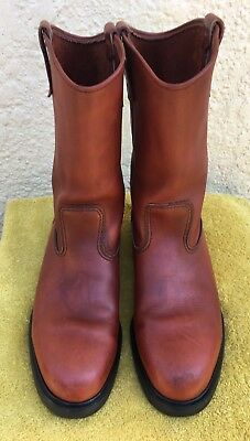 Red Wing Pecos Boots Mens Size US9.5 Redwing **RARE**