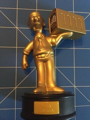 The Simpsons Figurine Russ Cargill Hungry Jacks Promotion