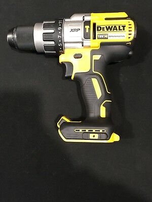NEW Dewalt 18v Cordless 3 Speed Brushless Hammer Drill DCD996-xe Skin ONLY