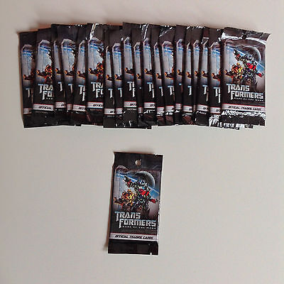 Transformers Dark of the Moon DOTM trading cards | 20 packs x 6 cards = 120