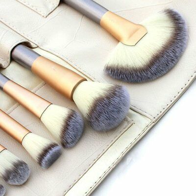 24Pcs Professionelle Kosmetik Pinsel-Set Makeup Brush Kit Schminkpinsel + Bag