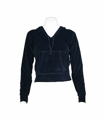 Felpa di tuta donna Lotto con cappuccio SWEAT FLY HD in ciniglia nero mis S