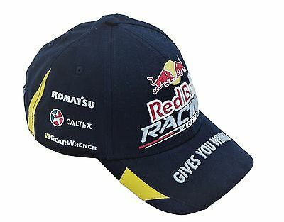 Red Bull Racing Australia Rbra Navy/yellow Team Cap - V8 Supercars Whincup
