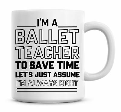 I/'m A Counsellor Lets Just Assume I/'m Always Right Funny Coffee Mug Gifts 932