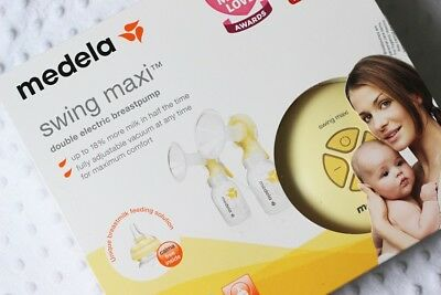 medela swing maxi double electric 2 phase breast pump with calma