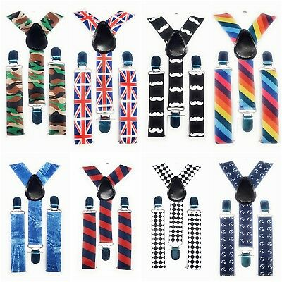 Adjustable Kids Braces Trousers Suspenders Children Boys Girls Wedding Party spi