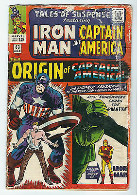Tales Of Suspense 63 Iron Man and Captain America