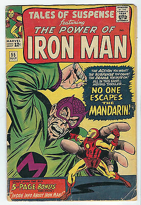 Iron Man 55 The Mandarin RED suit