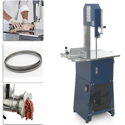 Professional Meat Cutting Band Saw with Built-in Grinder 3/4 hp Motor Meatsaw CE