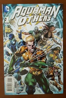 AQUAMAN and the OTHERS #1 DC Comics 2014 VF New 52