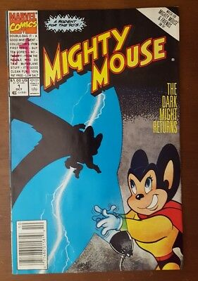 Mighty Mouse #1 (Oct 1990, Marvel)  News Stand Edition