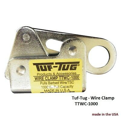 Tuf-Tug Wire Clamp TTWC-1000, Barbed-wire puller / wire puller 1000 lb capacity