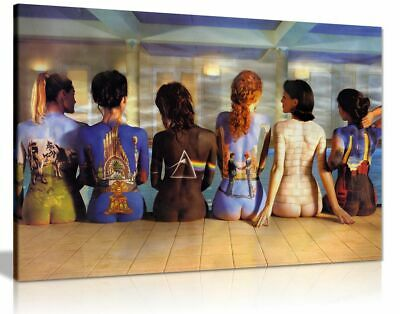 Pink Floyd Back Catalogue Canvas Wall Art Picture Print