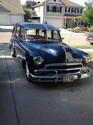 1951 Chevrolet Bel Air/150/210 Station wagon Chevy station wagon, tin woodie