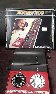 SCALEXTRIC LAPCOUNTER C277 LAP COUNTER BOXED with SPEED COMPUTER