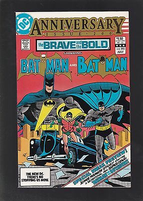 Brave and the Bold #200 Final Issue! 1st Outsiders And Katana Appearance!