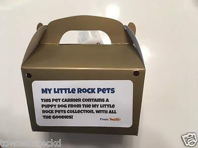 HOT! My Little Rock Pets - Puppy (The Pet Rock of 2017, Proceeds to Charity)
