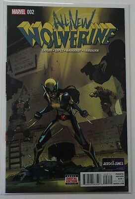 All New Wolverine #2 (2016) Marvel 1st Appearance Gabby  X-23