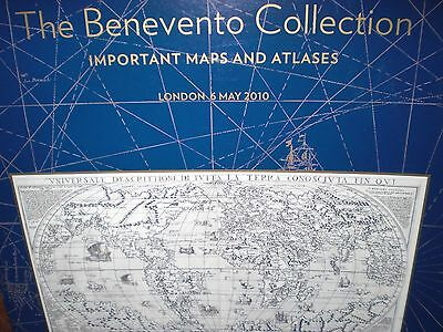 Important   Maps  &  Atlases.  Auktionskatalog . Benevento  Collection.  Results